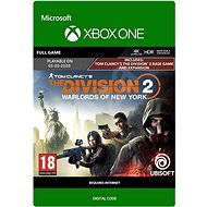 Tom Clancys Division 2: Warlords der New York Edition - Xbox One Digital - Konsolenspiel
