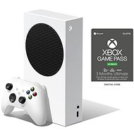 Xbox Series S + Xbox Game Pass Ultimate - 3-Monats-Abo - Spielkonsole