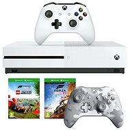 Xbox One S 1TB + Lego Forza Horizon 4 + 2x Spielcontroller - Spielkonsole