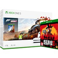 Xbox One S 1 TB + Forza Horizon 4 + Red Dead Redemption 2 - Spielkonsole