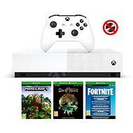 Xbox One 1 TB All-Digital + 3-Spiele (Fortnite, Minecraft, Sea of Thieves) - Spielkonsole