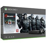 Xbox One X + Gears 5 - Spielkonsole