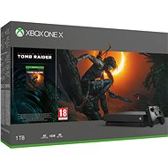 Xbox One X + Shadow of The Tomb Raider - Spielkonsole