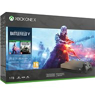 Xbox One X Battlefield V Gold Rush Special Edition - Spielkonsole