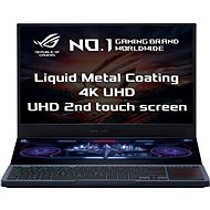 Asus ROG Zephyrus Duo GX550LXS-HC060T Gunmetal Gray Metall - Gaming-Notebook