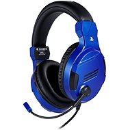 BigBen PS4 Stereo Headset v3 - blau - Gaming Kopfhörer