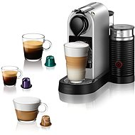 NESPRESSO Krups Citiz & Milk, Silber, XN761B10 - Kapsel-Kaffeemaschine