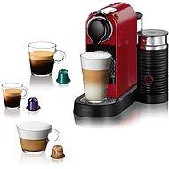NESPRESSO Krups Citiz & Milk, Rot, XN761510 - Kapsel-Kaffeemaschine