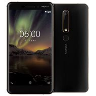 Nokia 6.1 Black/Copper - Handy