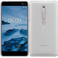 Nokia 6.1 Silver White Dual-SIM - Handy