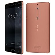 Nokia 5 Copper Single SIM - Handy
