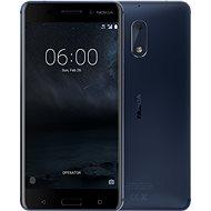 Nokia 6 Gehärtetes Blau Dual SIM - Handy