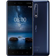 Nokia 8 Single SIM Tempered Blue - Handy