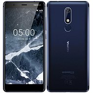 Nokia 5.1 Single SIM blau - Handy