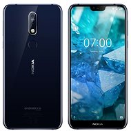 Nokia 7.1 Single SIM Blau - Handy