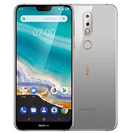 Nokia 7.1 Single SIM grau - Handy