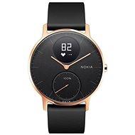 Nokia Steel HR 36mm Aktivitätstracker - Rosegold/Schwarz, Silikon-Armband - Smartwatch
