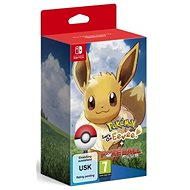 Pokémon Lets Go Evee! + Poké Ball Plus - Nintendo Switch - Konsolenspiel