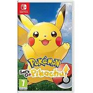 Pokémon Lets Go Pikachu! - Nintendo-Switch - Konsolenspiel