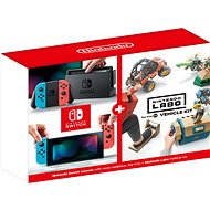 Nintendo Switch - Neon + Nintendo Labo Fahrzeug-Kit - Spielkonsole