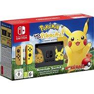 Nintendo Switch + Pokémon: Lets Go Pikachu + Pokéball - Spielkonsole