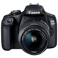 Canon EOS 2000D + 18-55mm IS II - Digitalkamera