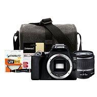 Canon EOS 250D schwarz + EF-S 18-55 mm f/3.5-5.6 DC III + Canon Starter Kit 58mm - 32GB - Digitalkamera
