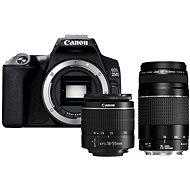 Canon EOS 250D schwarz + EF-S 18-55 mm f/3,5-5,6 DC III + EF 75-300 mm f/4-5.6 III - Digitalkamera