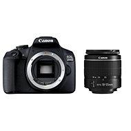 Canon EOS 2000D + EF-S 18-55 mm f/3,5-5,6 DC III - Digitalkamera