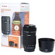 Canon EF-S 55-250mm f/4.0 - 5.6 IS STM + ET-63 - Objektiv