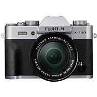 Fujifilm X-T20 Silber + XC 16-50 mm F3.5-5.6 OIS II - Digitalkamera