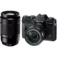 Fujifilm X-T20 schwarz + XC16-50mm F3.5-5.6 OIS II + XC50-230mm F4.5-6.7 OIS II - Digitalkamera