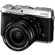 Fujifilm X-E3 Silber + XF 18-55 mm - Digitalkamera