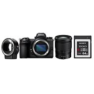 Nikon Z6 + 24-70 mm + FTZ-Adapter + 64GB XQD-Karte - Digitalkamera