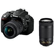 Digitale Spiegelreflexkamera Nikon D5300 schwarz + 18-55 mm AF-P VR Objektiv + 70-300 mm AF-P VR Objektiv - Digitale Spiegelreflexkamera