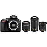 Nikon D5600 + AF-P 18-55 mm VR + 70-300 mm VR + 10-20 mm VR - Digitalkamera