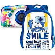 NIKON Coolpix W100 Mehrfarbig Backpack Kit - Kinderkamera