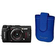 Olympus TOUGH TG-5 schwarz + Tough Neoprene Case - Digitalkamera
