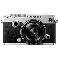 Olympus PEN-F stříbrný + 17mm - Digitalkamera