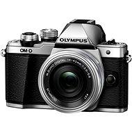 Olympus E-M10 Mark II silber/silber + ED 14-42 mm EZ - Digitalkamera