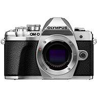 Digitalkamera Olympus E-M10 Mark III Gehäuse Silber - Digitalkamera