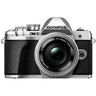 Olympus E-M10 Mark III silber / silber + 14-42 mm II R - Digitalkamera