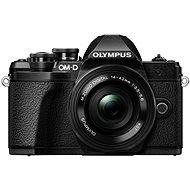 Olympus E-M10 Mark III schwarz + Objektiv ED 14-42 mm EZ schwarz - Digitalkamera