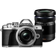 Olympus E-M10 Mark III Pancake silber + ED 14-42EZ silber + 40-150 mm R silber - Digitalkamera