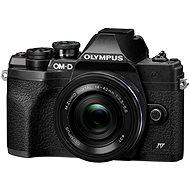 Olympus OM-D E-M10 Mark IV + 14-42 mm EZ - schwarz - Digitalkamera