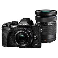Olympus OM-D E-M10 Mark IV + 14-42 mm EZ + 40-150 mm R - schwarz - Digitalkamera