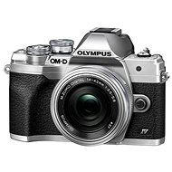 Olympus OM-D E-M10 Mark IV + 14-42 mm EZ - silber - Digitalkamera