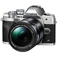 Olympus OM-D E-M10 Mark IV + 14-150 mm II - silber - Digitalkamera