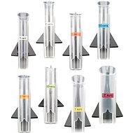 Olympia Kunststoffröhrchen-Set für Münzsortierer CC 202 - Röhre
