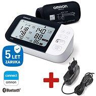 Omron M7 Intelli IT AFIB digitales Manometer mit Bluetooth Smart-Verbindung zum Omron Connect, beque - Blutdruckmesser